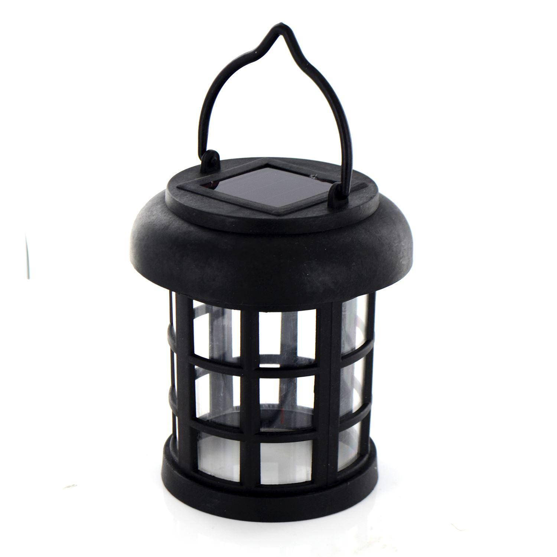 popular solar powered led hanging garden lantern rechargeable