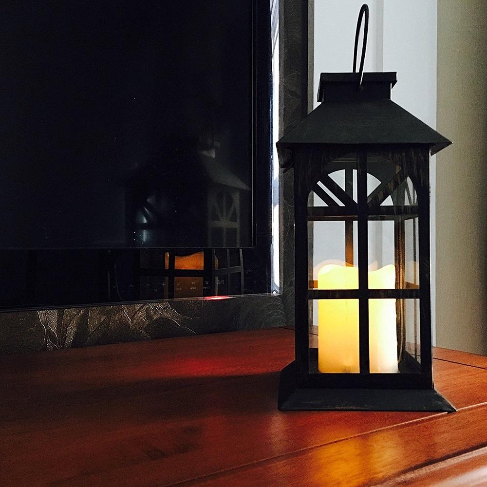 popular steadydoggie indoor outdoor solar lantern for patio and garden
