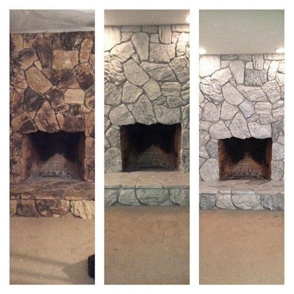 Search 25  Best Ideas About Painted Rock Fireplaces On Medium