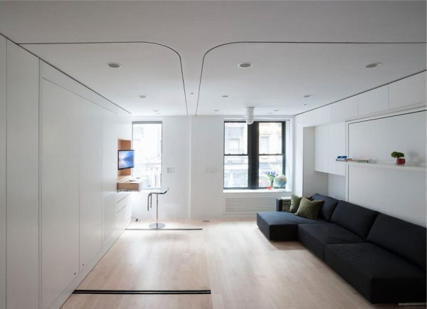 Search Compact Smart Studio Apartment In Soho With Moving Wall Medium
