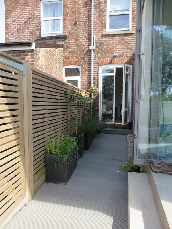 Search Long Narrow Contemporary Courtyard Design Outside Medium