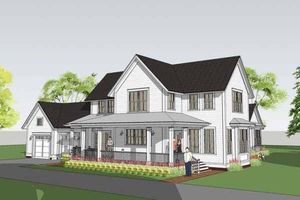 Search Modern Farmhouse With Main Floor Master Withrow Medium