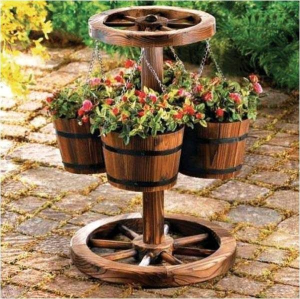 Search Rustic Elements  Your Garden Decorated In Style Find Medium