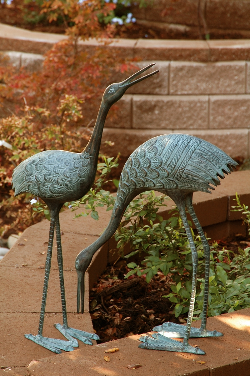 search stately garden cranes sculptures by spi home  649 you