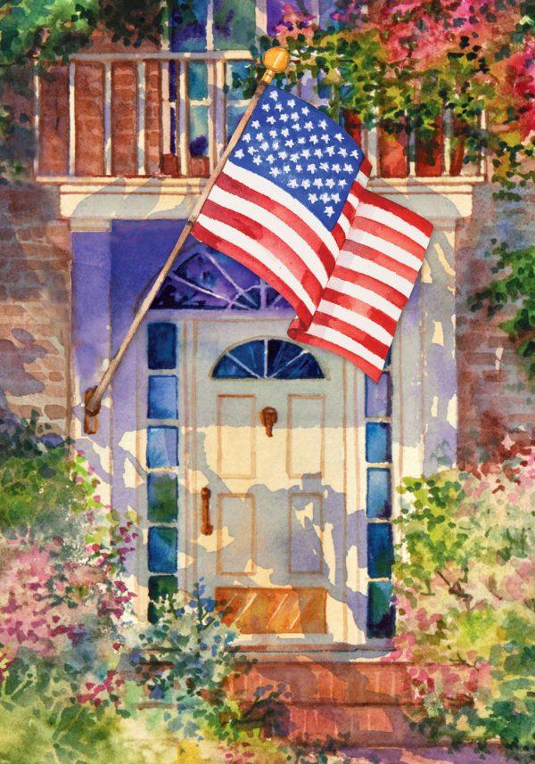 Search Toland Patriotic Home Garden Flag Medium
