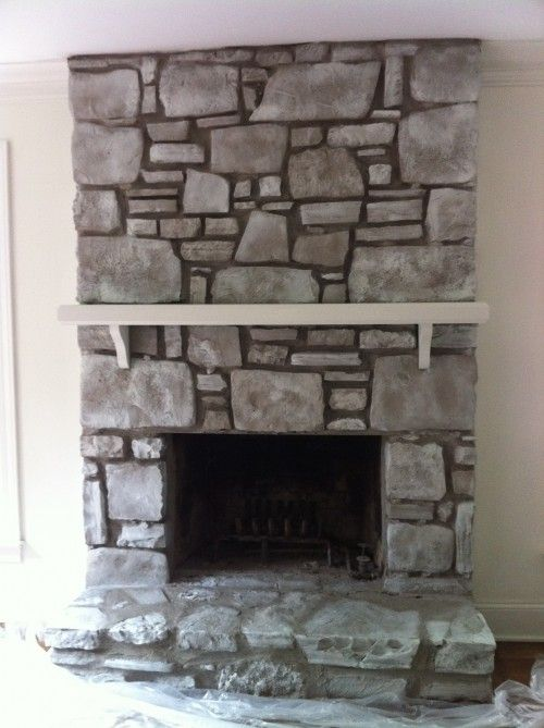 simply 17 best ideas about painted rock fireplaces on