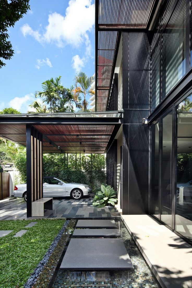 simply 40 modern entrances designed to impress  architecture beast