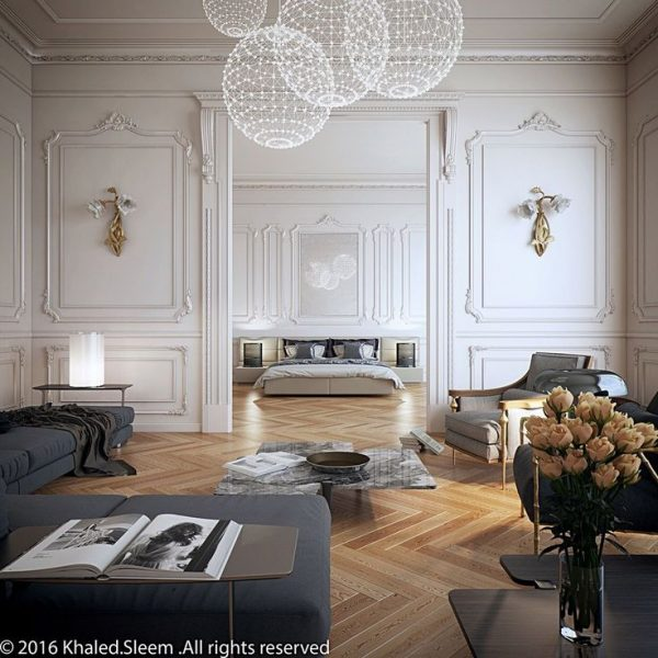 Simply Best 20  Neoclassical Interior Ideas On Medium