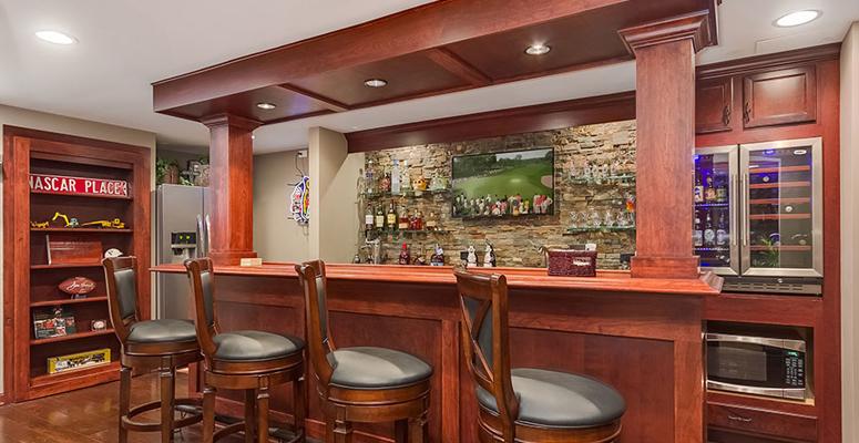 simply colorado finished basementswet bars