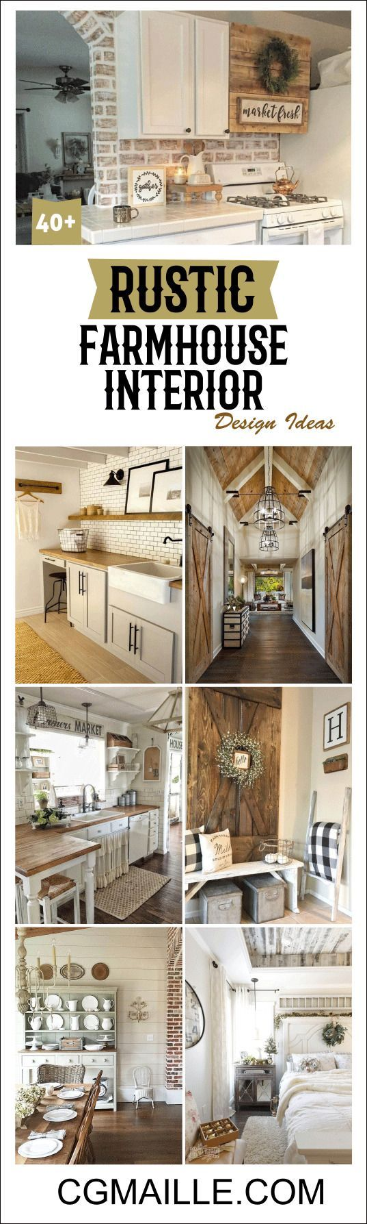 Simply Farmhouse Interior Design Ideas Has Certain Medium