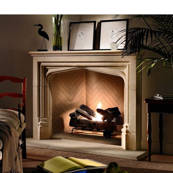 Simply Ideal Prefab Wood Burning Fireplace  The Wooden Houses Medium