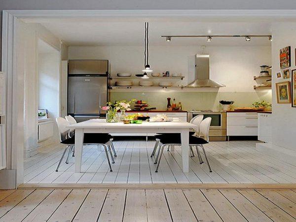 Simply Kitchen Basement Studio Apartment Ideashome Interior Design Medium