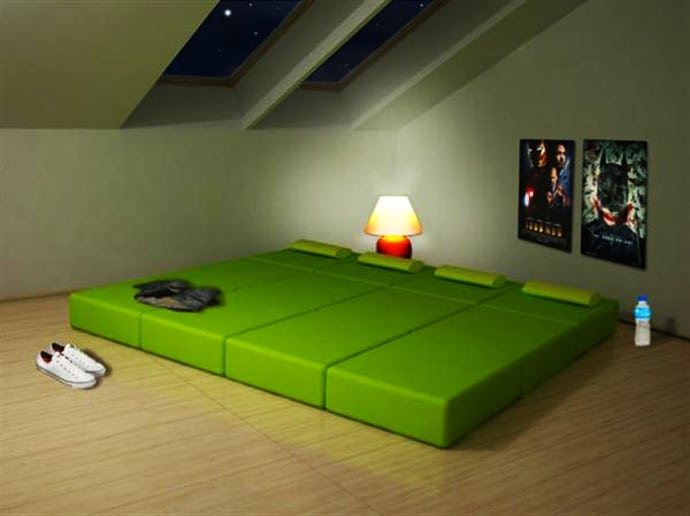 simply modular furniture multi purpose for small space room