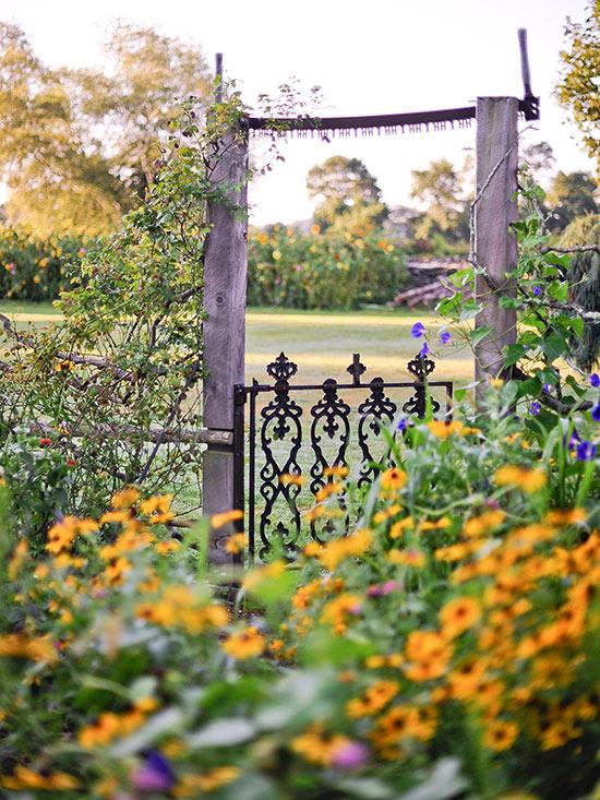 Simply Rustic Flower Gardens 17 Landscaping Ideas Houz Buzz Medium
