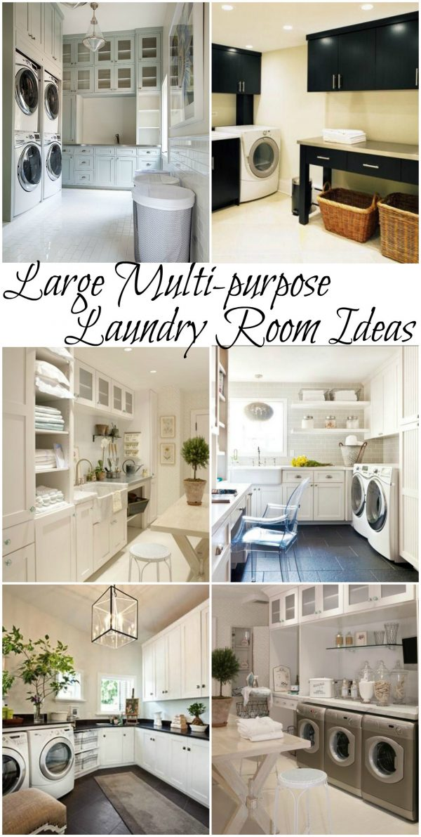 Style 100  Inspiring Laundry Room Ideas Medium