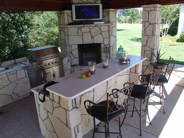 Style 12 Fascinating Outdoor Bar Design Ideas Medium