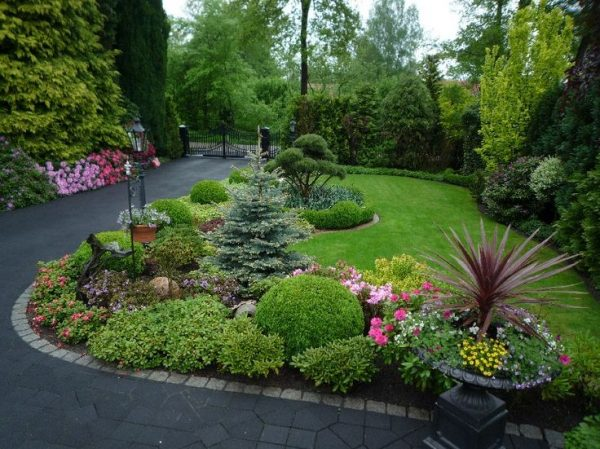 Style Best 25  Corner Landscaping Ideas On Corner Medium