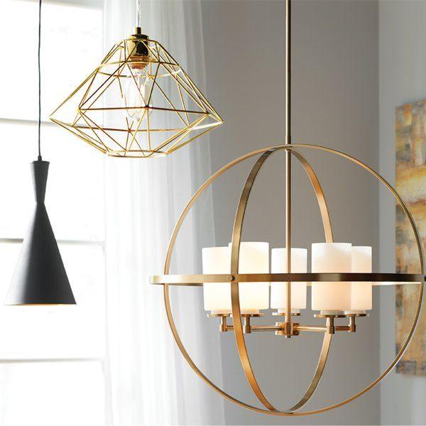 Style Modern   Contemporary Ceiling Lightsallmodern Medium