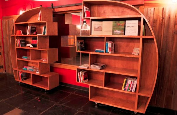 Style Sliding Bookcasego Build Something  Dads Medium