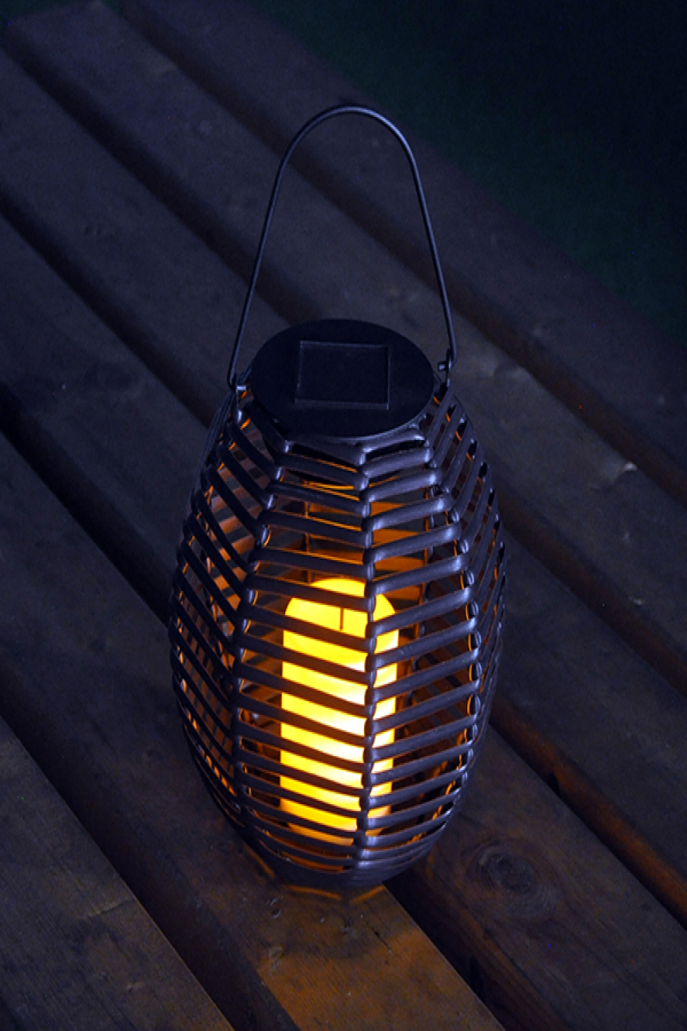 style solar rattan candle lanterngarden mall