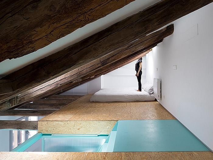 style space saving modern loft