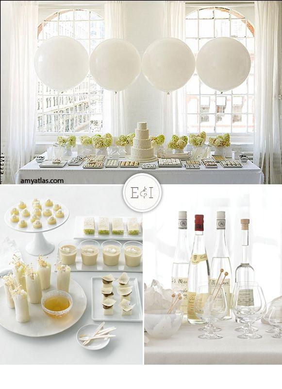 Style White And Yummywedding Inspirationparty Engagement Medium