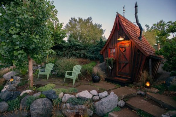 Tips 17 Wonderful Rustic Landscape Ideas To Turn Your Backyard Medium