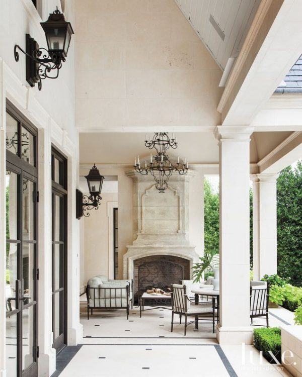 Tips A French Neoclassicalstyle Residence In Dallasporch Medium