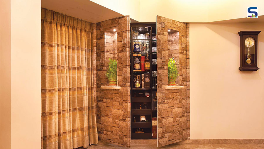 tips a hidden bar unit