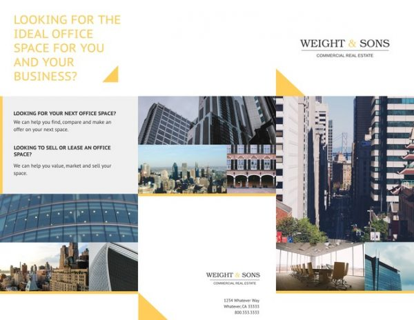 Tips Free Trifold Brochure Templates   Examples  15  Free Medium