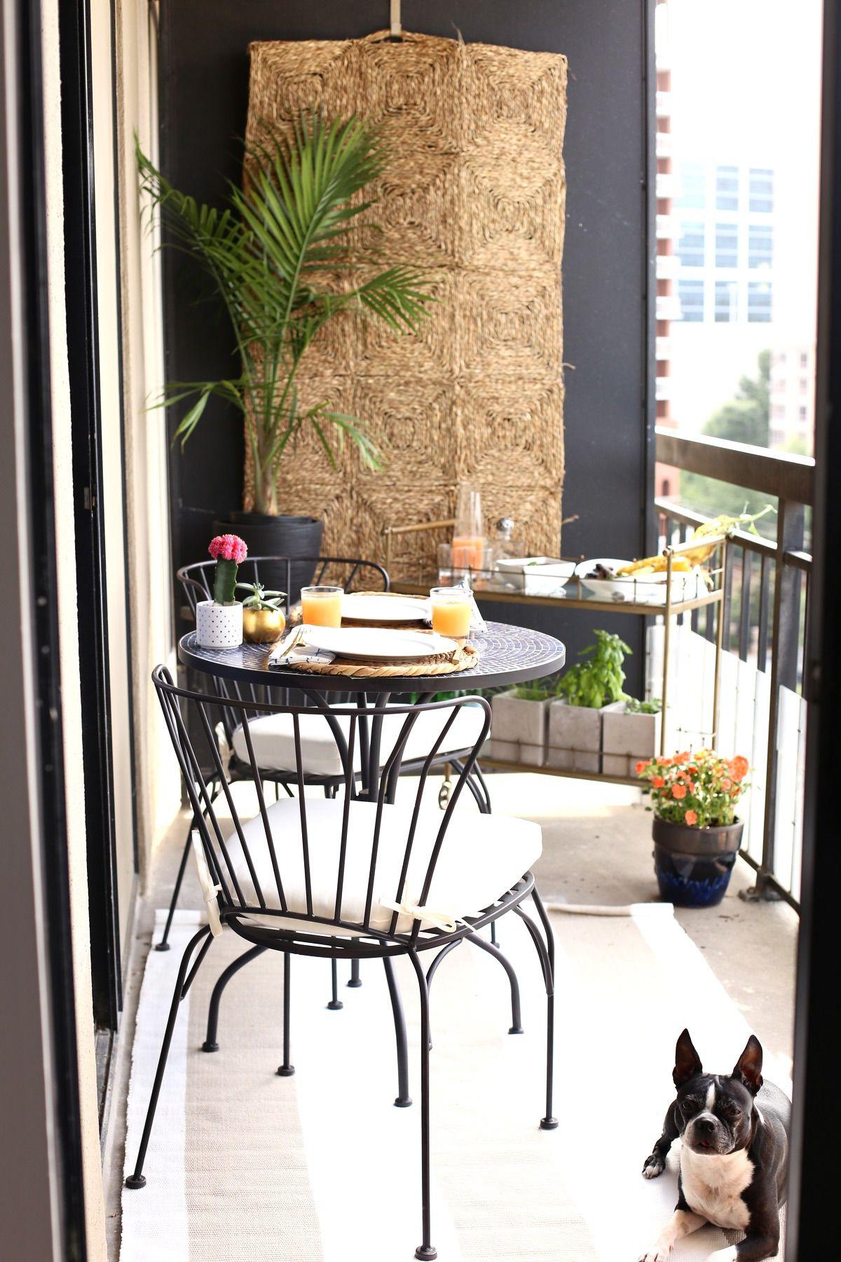 tips high rise patio ideasnestsmall balcony decor
