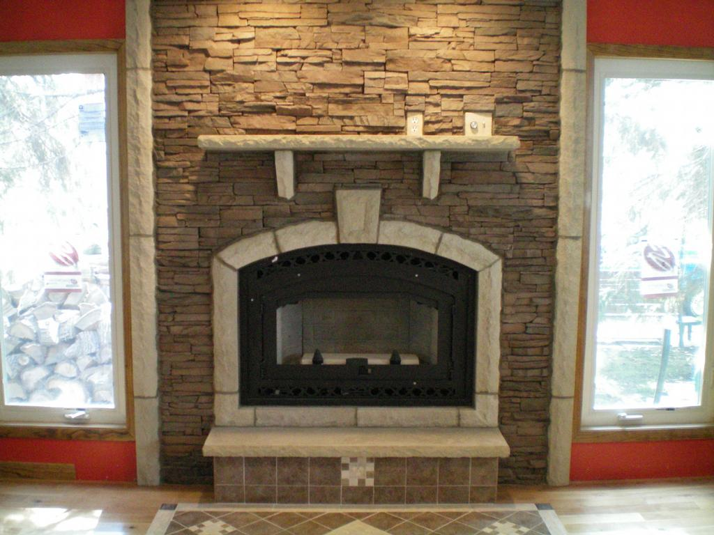 tips picture gallery for building a stone fireplace ideas
