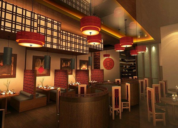 Top Architecture Chinese Restaurant In Interior Room Designs Medium