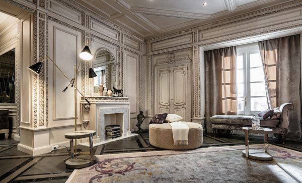 Top Neoclassical And Art Deco Features In Two Luxurious Interiors Medium