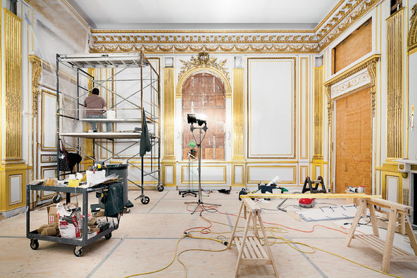 top one of the finest examples of french neoclassical interior