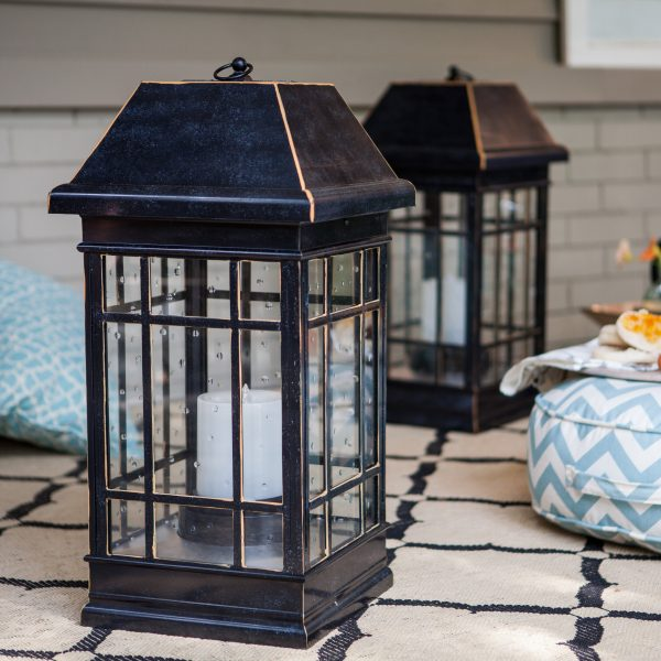Top Smart Solar San Rafael Estate Solar Mission Lantern Medium