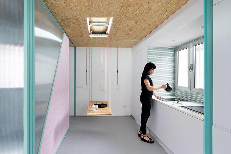 top this transformable microapartment has secret trap doors