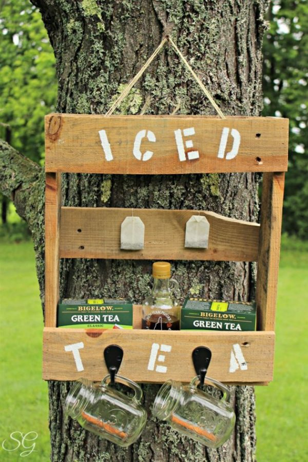 We Share 19 Super Easy   Cheap Diy Outdoor Bar Ideas Medium
