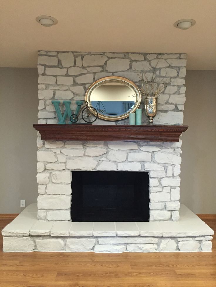 we share 25  best ideas about painted stone fireplace on