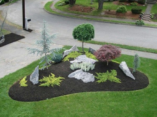 We Share Best 25  Corner Landscaping Ideas On Corner Medium