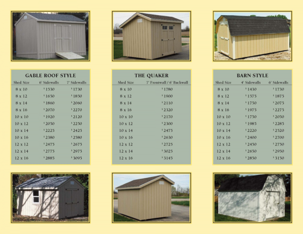 We Share Milwaukee Storage Shed Brochureshed Building Ideas Medium