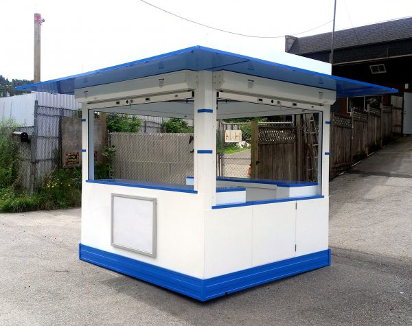 We Share Outdoor Cappuccino And Espresso Coffee Kiosk Built To Medium