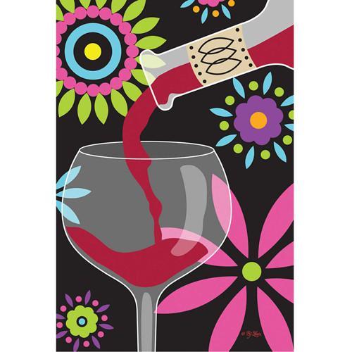 We Share Red Wine Toland Garden Flag Flagsrusorg Medium