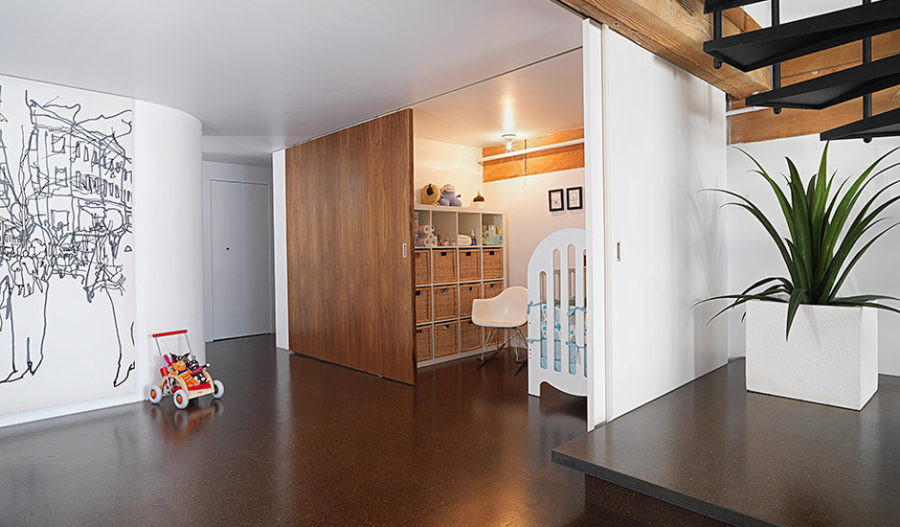 we share retractable walls for flexible living