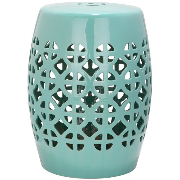 We Share Shop Safavieh 185in Robins Egg Blue Ceramic Barrel Medium
