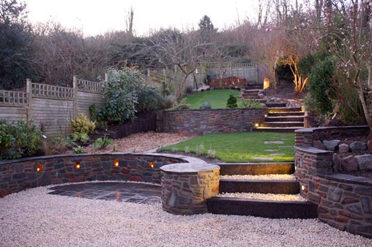 We share Sloping Garden Design Inspiration Gardenlife Blog