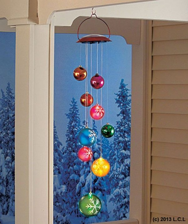 We Share Solar Ornament Mobile In Stock Christmas Holiday Outdoor Medium