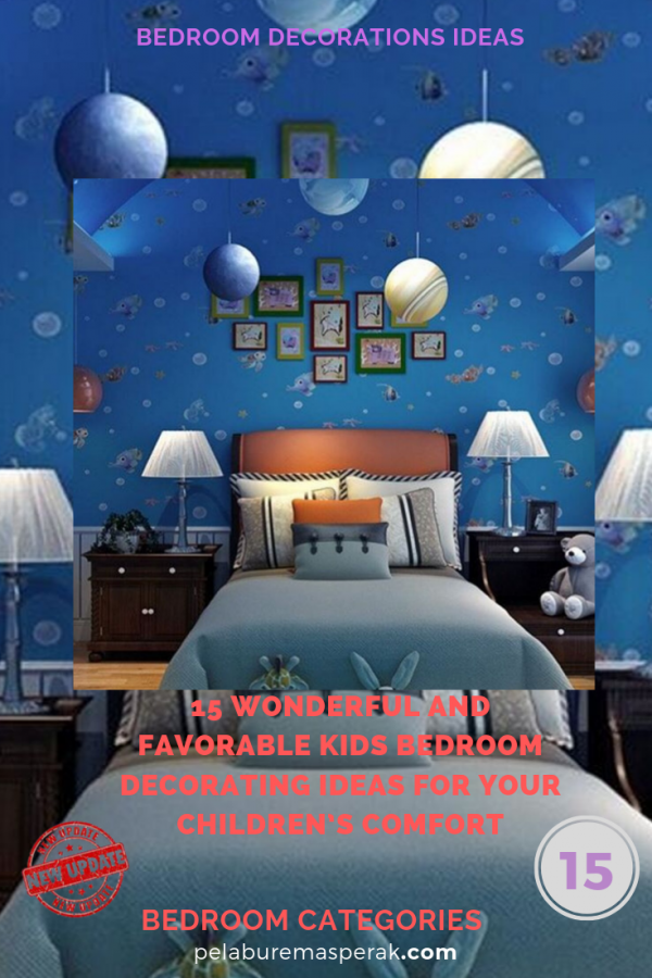 15 wonderful and favorable kids bedroom decorating ideas for your children's comfort medium