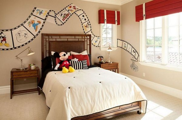 Adorable-Cartoon-Inspired-Bedroom