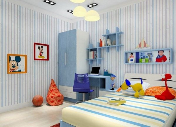 ChildrenBedroomWallPaintDesign Medium